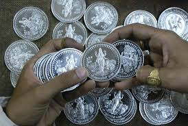 Image result for silver and gold  kilo coin photos