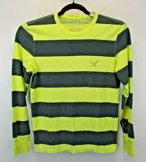 <b>American Eagle</b> Outfitters <b>AEO</b> Big Island <b>Surf</b> Tee Mens Neon ...