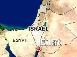Image result for map of southern israel showing eilat