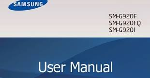 You can download the Samsung Galaxy S6 User manual in PDF.