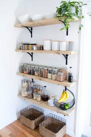Kitchen Open Shelves 17 Best Ideas About Open Shelving In Kitchen On Pinterest Open