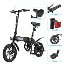 <b>Dohiker</b> Electric Bike Folding Bicycle 14 <b>inch</b> 250W Motor Max <b>16</b> ...