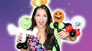 Fast & Easy <b>Halloween Balloons</b>! - YouTube