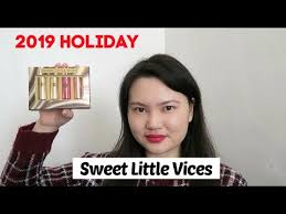 <b>Urban Decay</b> Sweet Little Vices Set Review + Swatches + Try On ...