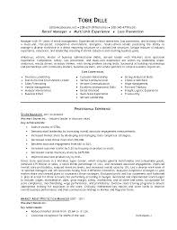 housekeeping resume examplescommunity manager cover letter chef de cover letter retail management resumes examples retail executive community manager resume