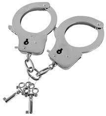 Guilty Pleasure <b>Наручники</b> из листового <b>металла</b> с ключами <b>Metal</b> ...