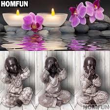"<b>HOMFUN</b> Full Square/Round Drill 5D DIY <b>Diamond Painting</b> ""Orchid ..."