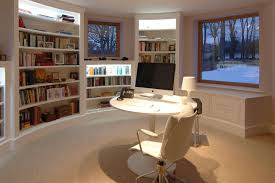 build a home office officesmall home office with library and plaid wood book shelves near rectangle building home office witching
