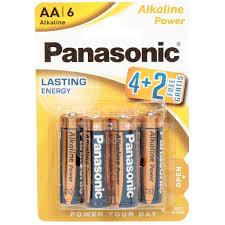 <b>Батарейка Panasonic AA</b> BL6 Alkaline Power , цена за блистер 6 шт