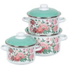 <b>Набор эмалированной посуды</b> СтальЭмаль Армель 6KB021M ...