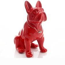 ceramic French Bulldog dog statue <b>home decoration accessories</b> ...