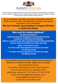 jobs for you association of voluntary organisations in wrexham autism initiatives jobs