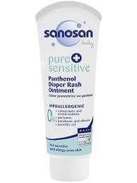 <b>Крем под подгузник с</b> пантенолом Pure+Sensitive, 100 мл ...