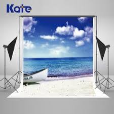 10x10ft <b>Kate</b> Beach <b>Backdrop Sky</b> Cloud <b>Backdrops</b> Newborn ...