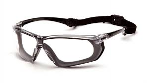 Clear H2X Anti-Fog Lens with <b>Black and Gray</b> Frame - Pyramex Safety