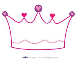 template princess crown clipart best 10 best images of disney princess crown template princess crown