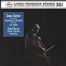 <b>Dvorak</b>: <b>Cello</b> Concerto; <b>Bruch</b>: Kol Nidrei [LP]: Starker, Janos ...