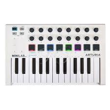 <b>Arturia MiniLab</b> Mk II. <b>MIDI</b>-<b>клавиатура</b>: цена, фото, отзывы