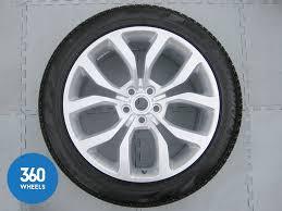 "Range Rover Sport <b>21</b>"" 5 <b>Split Spoke</b> Alloy Wheel (Style 16) Pirelli ..."