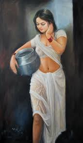 art ideas sweet unique buy sweet water a beautiful painting by indian artist vishalandra daku