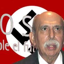 """Der Führer Oscar Yanez. En días pasados y en unas declaraciones por Goeebelsterror y ante el Mata Curas el """"caballero"""" Oscar Yánez se quitó definitivamente ... - oscarY1"""