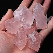 Seed Quartz 50G Natural Raw Pink Rose Quartz ... - Amazon.com
