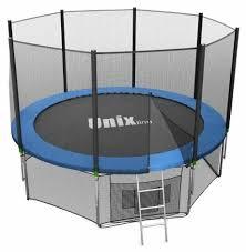 Купить Каркасный батут Unix Line 8ft outside 244х244х241 см в ...