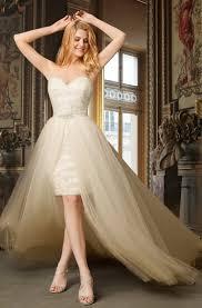 Detachable Wedding Gowns | <b>Bridal Dresses With Detachable</b> Skirt ...