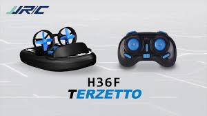 <b>JJRC</b> H36F Terzetto <b>3IN1</b> Waterproof RC boat hovercraft drifting car ...