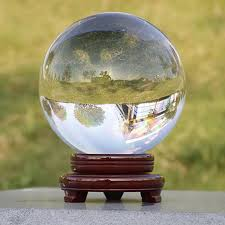 <b>Globe K9 Clear</b> Chandelier Ball Crystal Glass Ball Crystal Ball Stand ...
