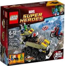 Купить <b>Конструктор Lego Super Heroes</b> 76017 Капитан Америка ...