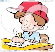 clipart school boy writing an essay royalty vector clipart school boy writing an essay royalty vector illustration by johnny sajem