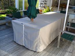 furniture outdoor covers. canvas outdoor table cover with slot for umbrella 3 furniture covers