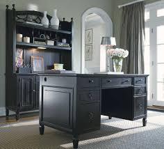 elegant design home office desks elegant full size of office charming glass vase with beautiful flowers black wood office desk 4