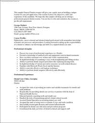 general dentist resume template general dentist resume