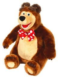 Купить <b>Мягкая игрушка Мульти</b>-<b>Пульти</b> Маша и Медведь <b>Мишка</b> ...