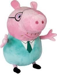 Мягкая игрушка <b>Peppa Pig</b> Свин с Галстуком 30 см, артикул: 25100