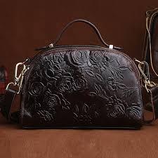 <b>High Quality</b> Women Cowhide Toe Handbag Messenger Bag ...
