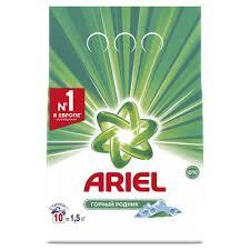 <b>Ariel</b> Горный родник | <b>Стиральный порошок</b> | Описание и отзывы