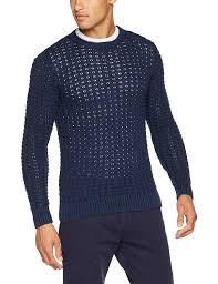 Tommy Jeans <b>Mens</b> Text Cn Sweater 32 <b>Round Collar</b> Jumper ...