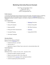 marketing resume objectives examples  seangarrette comarketing internship resume example marketing resume objectives internship resume objective examples with professional experience   marketing resume