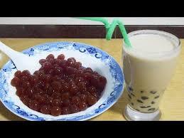 A bowl of <b>tapioca</b> powder, teach you homemade <b>pearl milk</b> tea, eat ...
