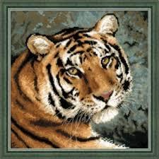 Вышивка крестом «Амурский тигр» (Риолис) <b>1282</b> купить за ...