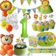 Cyuan <b>Jungle Party Animal Balloons</b> Kids Birthday <b>Party</b> Decoration ...