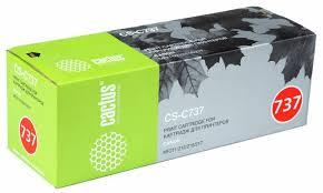 <b>Картридж</b> для лазерного принтера <b>Cactus CS</b>-<b>C737</b>, купить в ...