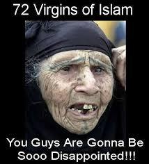 Image result for 70 ugly virgins