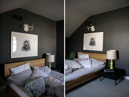 bedroom makeover with grey color wall paint incredible design for small bathroom interior brown dark gray