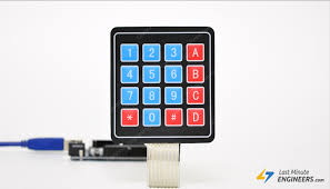 In-Depth: Interface 4x3 & <b>4x4</b> Membrane Keypad with Arduino