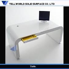 tellworld acrylic solid surface modern design office desk tw patb 038 acrylic office desk
