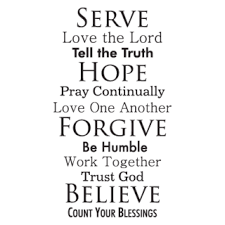Image result for live your faith - quotes